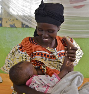 Mother and child in Burundi. Photo republished under a Creative Commons license. Author: Healthcare in Burundi. Photo republished under a Creative Commons license. Author: Tobin Greensweig