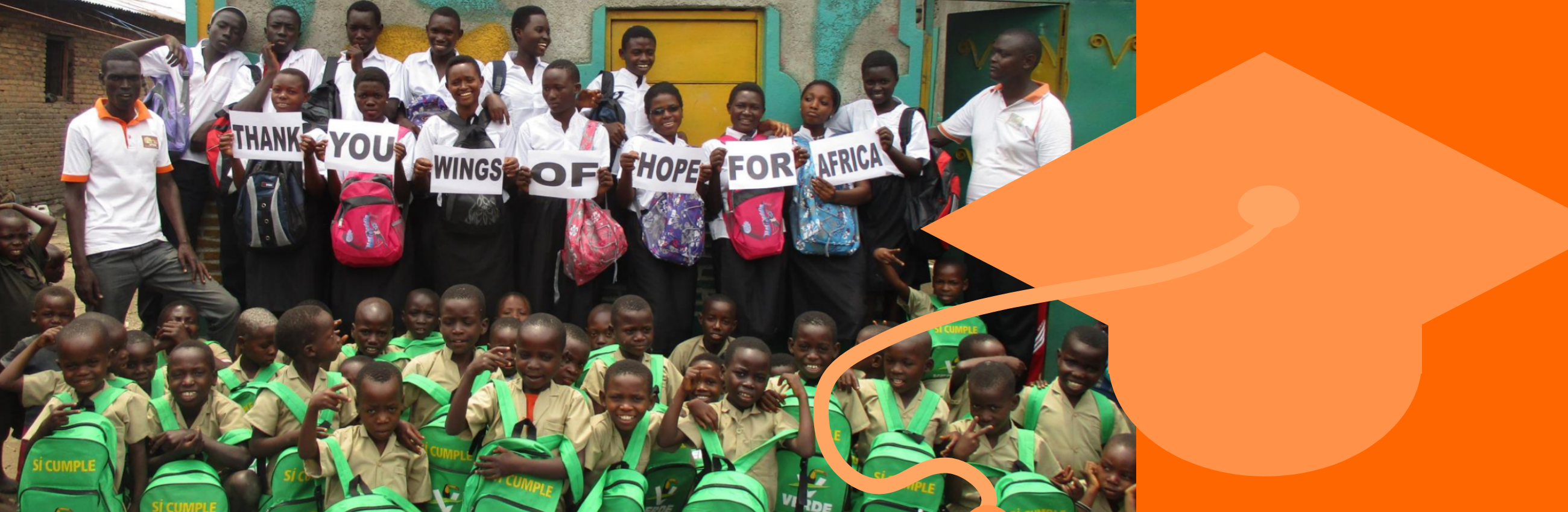 Wings of Hope for Africa firmly believes that education and sponsorship are important tools in breaking the cycle of poverty in Burundi.