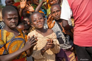 Donate to Wings of Hope for Africa Foundation. Joyful Children in Burundi. Photo republished under a Creative Commons license. Author: Troens Bevis