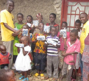 Your donations help and aid children in Buterere, Burundi, with health and education programs