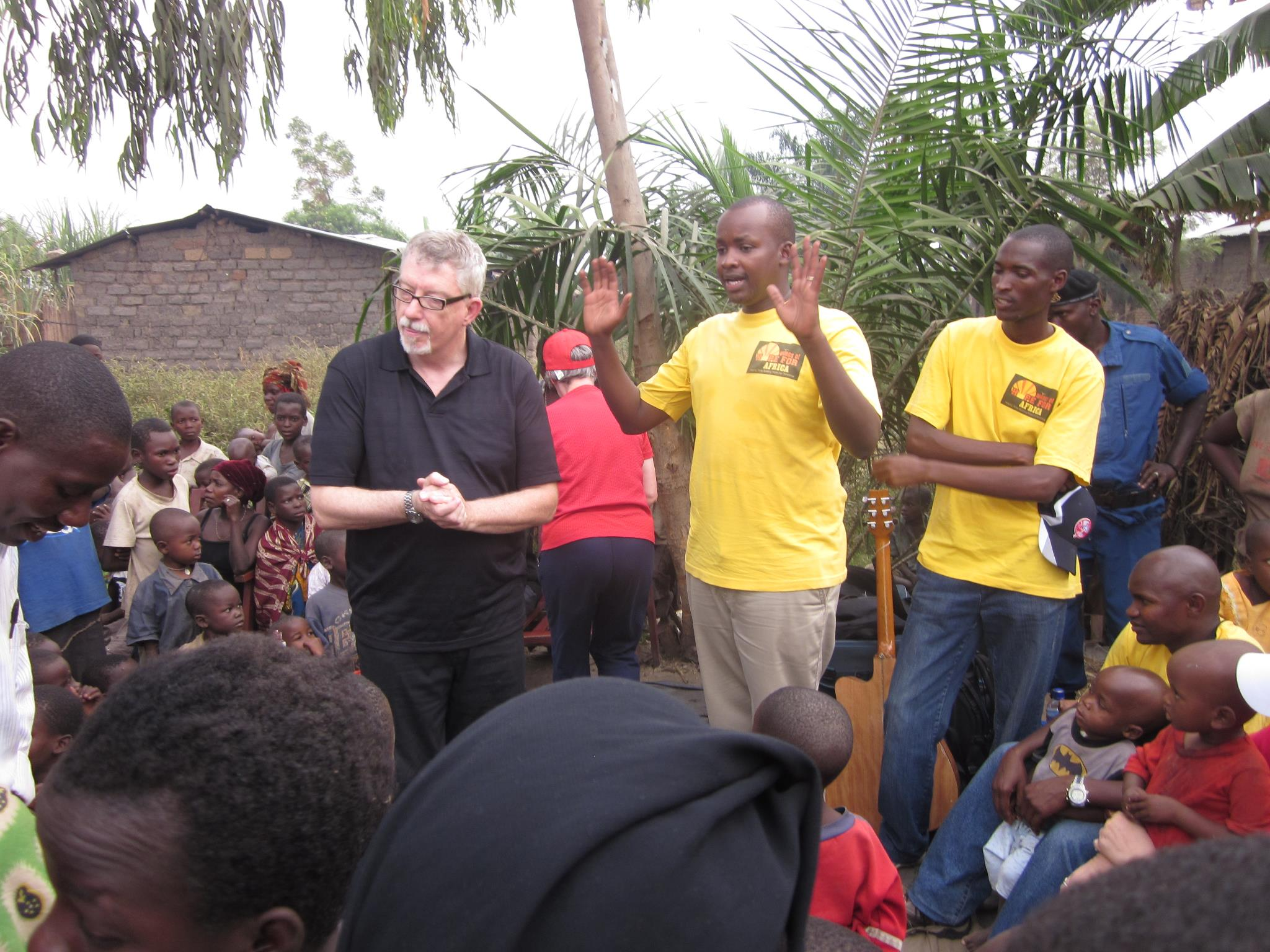 Team Canada Visits Buterere