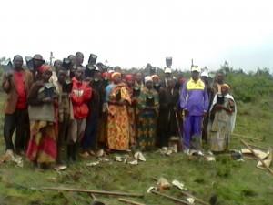 Kivumu Families in the Burundii Community Garden