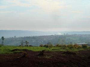A shot of land