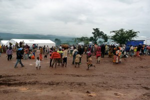 Burundi refugees at the Mahama refugee camp, Rwanda