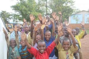 Children at Mahama camp