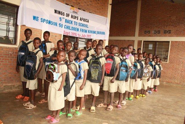 Primary Sponsored Children