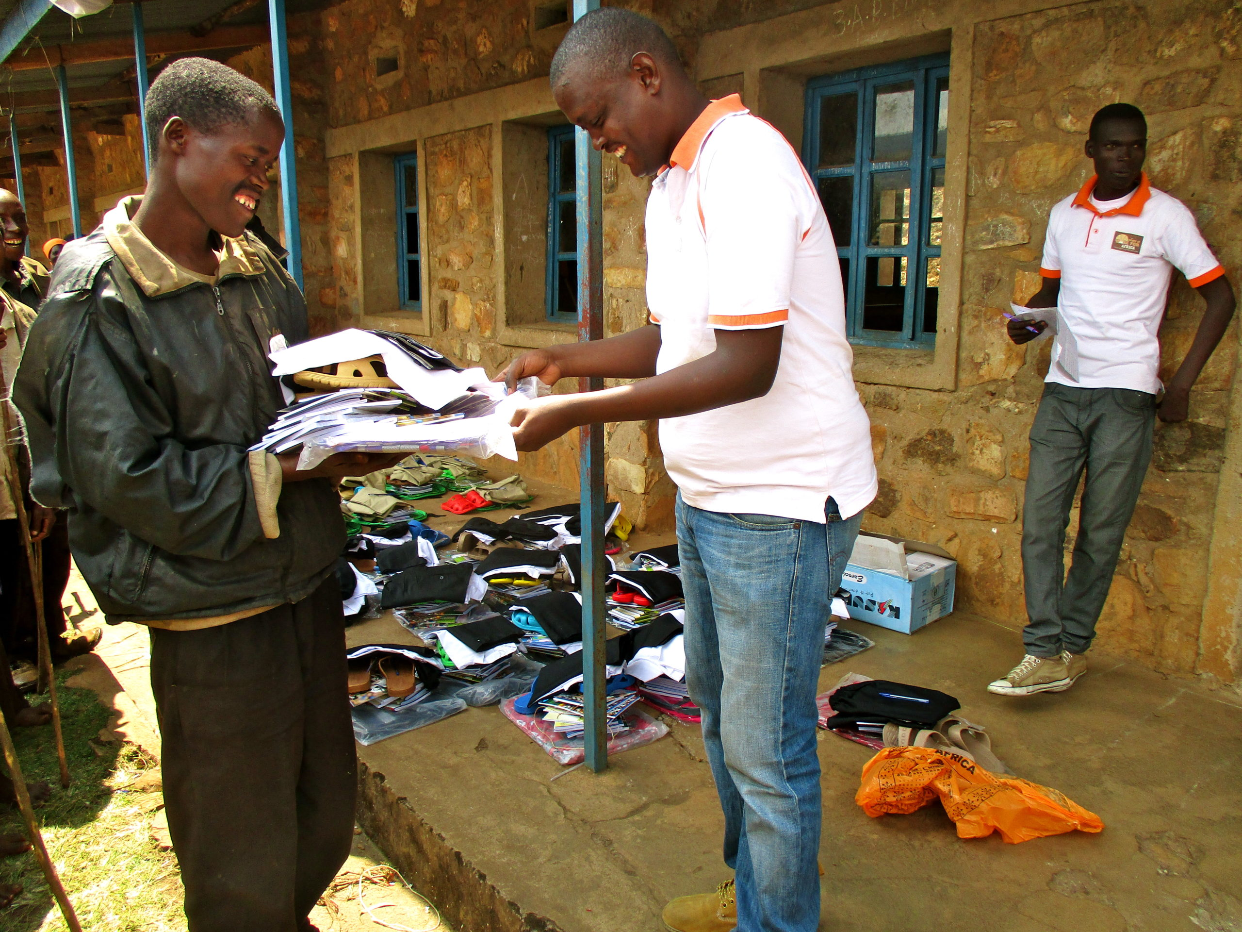 """Wings of Hope for Africa """"Back to School"""" program - supporting education and children's welfare in Buterere, Burundi"""