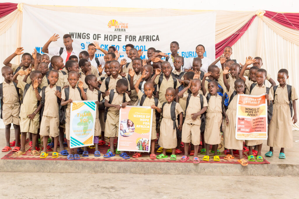 Children's Welfare and Education - Wings of Hope for Africa Foundation charity programs